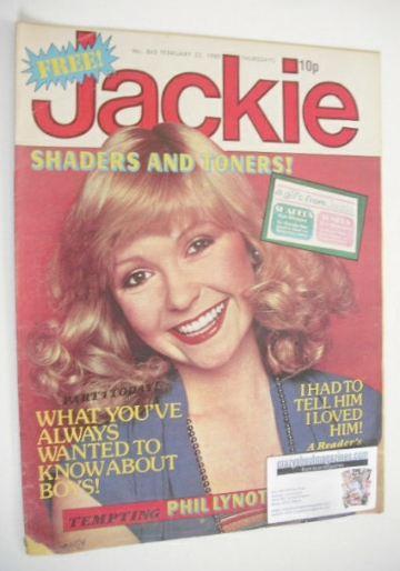 <!--1980-02-23-->Jackie magazine - 23 February 1980 (Issue 842)