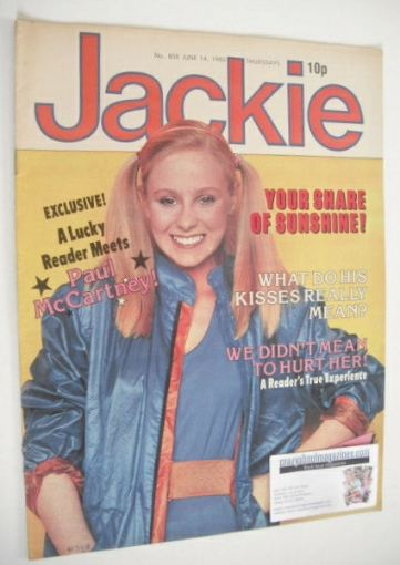 <!--1980-06-14-->Jackie magazine - 14 June 1980 (Issue 858)