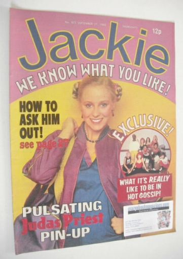 <!--1980-09-27-->Jackie magazine - 27 September 1980 (Issue 873)