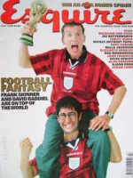 <!--1998-07-->Esquire magazine - Frank Skinner and David Baddiel cover (July 1998)