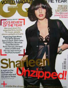 <!--2004-01-->British GQ magazine - January 2004 - Sharleen Spiteri cover