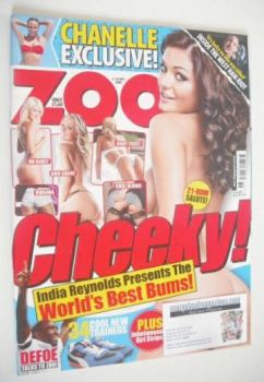 Zoo magazine - India Reynolds cover (4-10 September 2009)