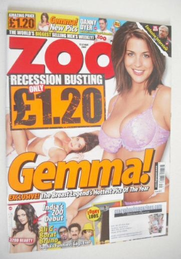 <!--2009-05-15-->Zoo magazine - Gemma Atkinson cover (15-21 May 2009)