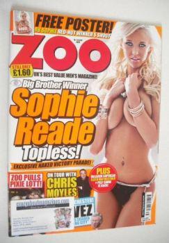 Zoo magazine - Sophie Reade cover (18-24 September 2009)