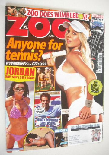<!--2009-06-26-->Zoo magazine - Madison Welch cover (26 June - 2 July 2009)
