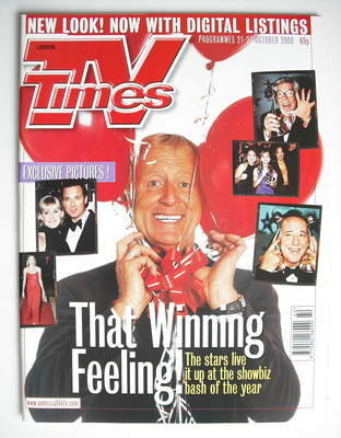 <!--2000-10-21-->TV Times magazine - Chris Tarrant cover (21-27 October 200