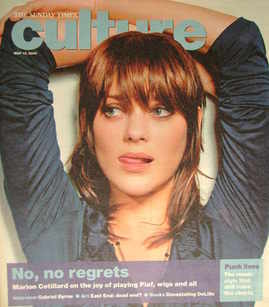 <!--2007-05-13-->Culture magazine - Marion Cotillard cover (13 May 2007)