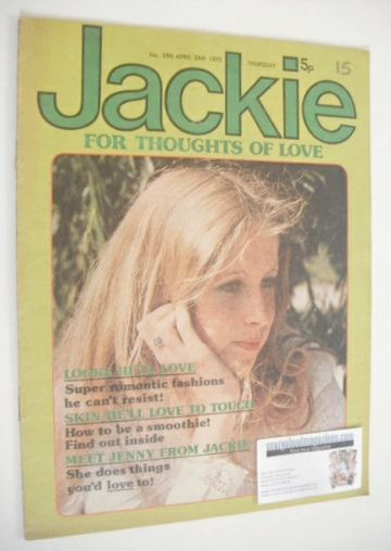 <!--1975-04-26-->Jackie magazine - 26 April 1975 (Issue 590)