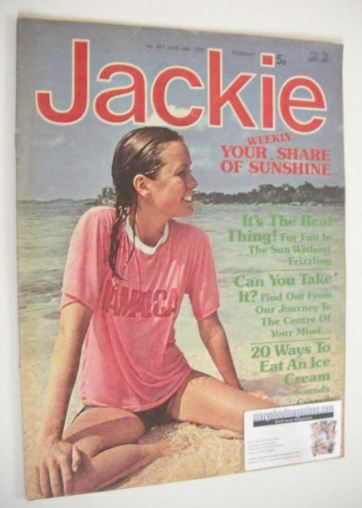 <!--1975-06-14-->Jackie magazine - 14 June 1975 (Issue 597)