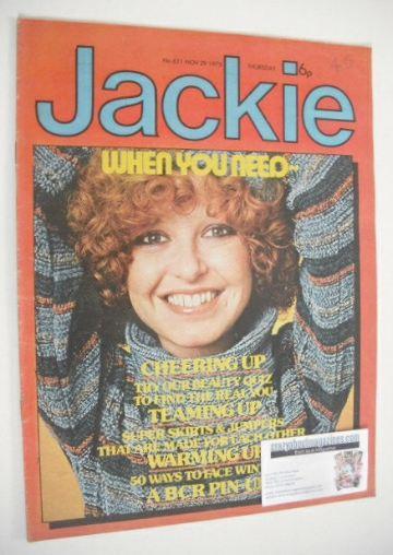 <!--1975-11-29-->Jackie magazine - 29 November 1975 (Issue 621)