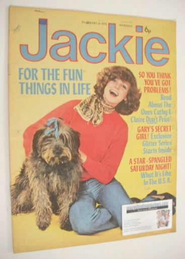 <!--1975-12-06-->Jackie magazine - 6 December 1975 (Issue 622)