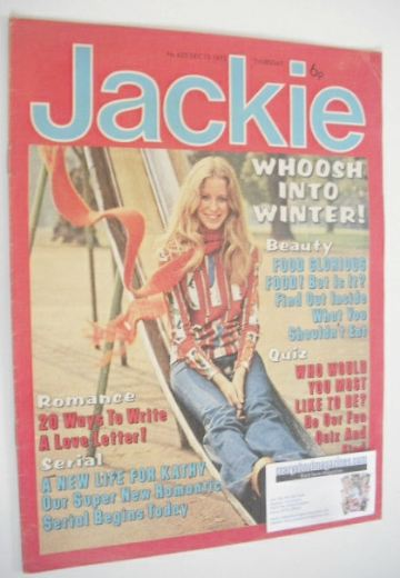 <!--1975-12-13-->Jackie magazine - 13 December 1975 (Issue 623)