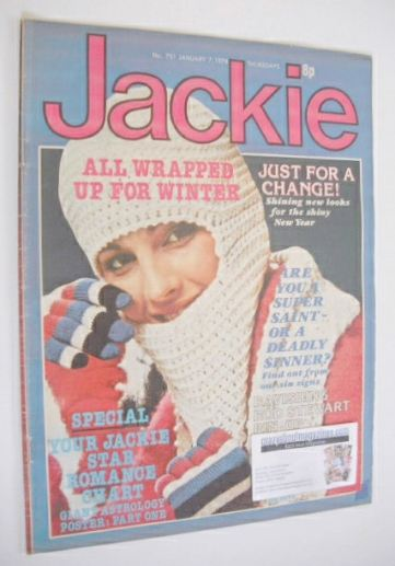 <!--1978-01-07-->Jackie magazine - 7 January 1978 (Issue 731)