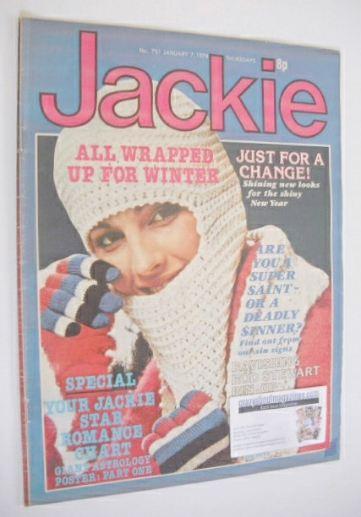 <!--1978-01-07-->Jackie magazine - 7 January 1978 (Issue 731)