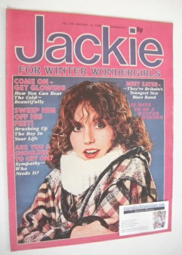 <!--1978-01-14-->Jackie magazine - 14 January 1978 (Issue 732)