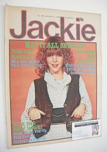 <!--1978-01-21-->Jackie magazine - 21 January 1978 (Issue 733 - Leslie Ash