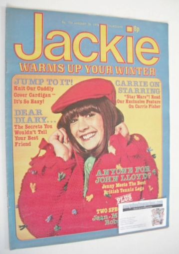 <!--1978-01-28-->Jackie magazine - 28 January 1978 (Issue 734)
