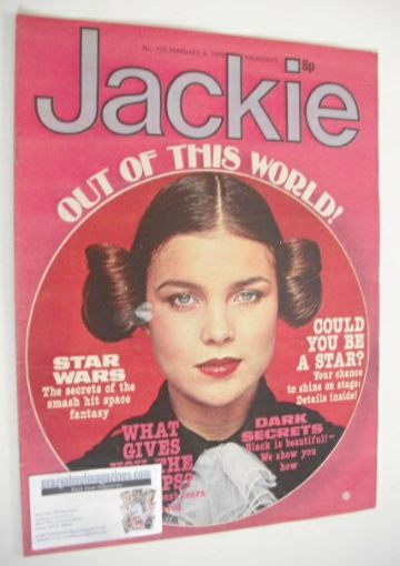 <!--1978-02-04-->Jackie magazine - 4 February 1978 (Issue 735)