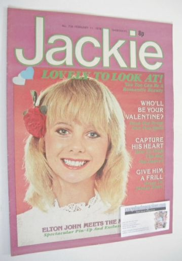 <!--1978-02-11-->Jackie magazine - 11 February 1978 (Issue 736)
