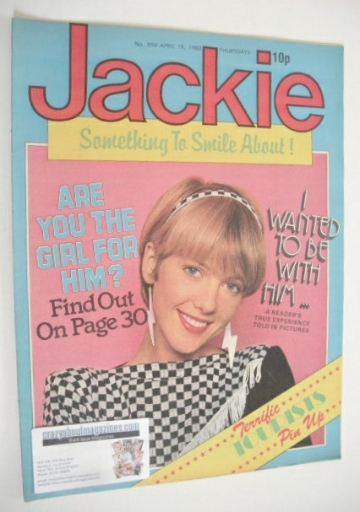 <!--1980-04-19-->Jackie magazine - 19 April 1980 (Issue 850)