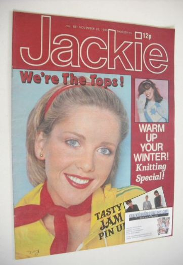 <!--1980-11-22-->Jackie magazine - 22 November 1980 (Issue 881)