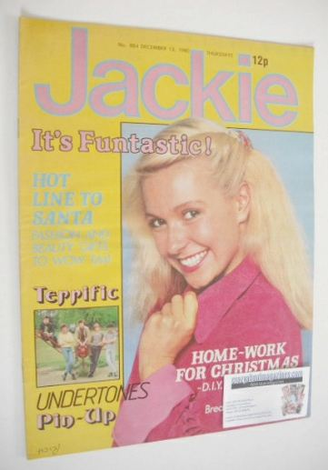 <!--1980-12-13-->Jackie magazine - 13 December 1980 (Issue 884)