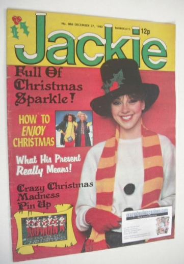 <!--1980-12-27-->Jackie magazine - 27 December 1980 (Issue 886)