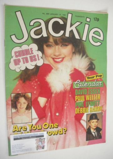 <!--1981-01-17-->Jackie magazine - 17 January 1981 (Issue 889)