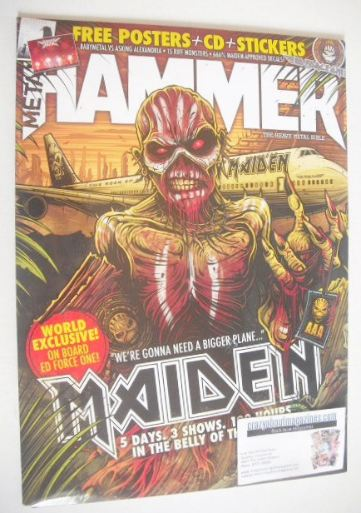 <!--2016-05-->Metal Hammer magazine - Iron Maiden cover (May 2016)