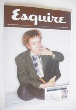Esquire magazine - John Lydon cover (January/February 2016 - Subscriber's Issue)