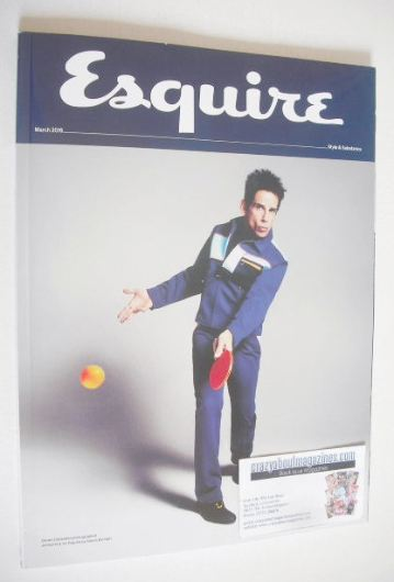<!--2016-03-->Esquire magazine - Derek Zoolander cover (March 2016 - Subscr