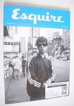 Esquire magazine - Noel Gallagher cover (December 2015 - Subscriber's Issue)