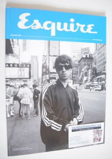 <!--2015-12-->Esquire magazine - Noel Gallagher cover (December 2015 - Subs
