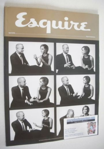 <!--2016-04-->Esquire magazine - cover (April 2016 - Subscriber's Issue)
