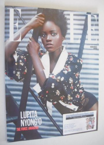 <!--2016-01-->British Elle magazine - January 2016 - Lupita Nyong'o cover (