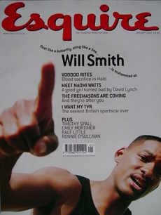 <!--2002-01-->Esquire magazine - Will Smith cover (January 2002)