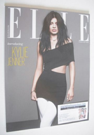 <!--2016-02-->British Elle magazine - February 2016 - Kylie Jenner cover (S