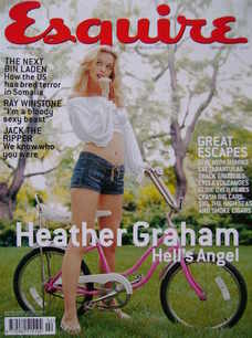 <!--2002-02-->Esquire magazine - Heather Graham cover (February 2002)