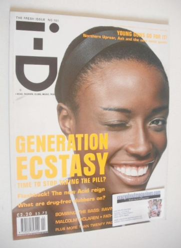 <!--1996-04-->i-D magazine - Lorraine Pascale cover (April 1996)