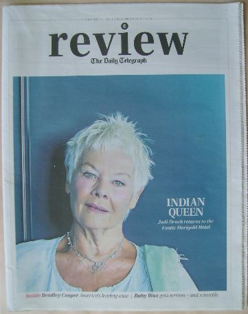 The Daily Telegraph Review newspaper supplement - 21 February 2015 - Judi D