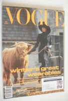 <!--1991-11-->British Vogue magazine - November 1991