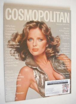 Cosmopolitan magazine (December 1975 - Cheryl Tiegs cover)
