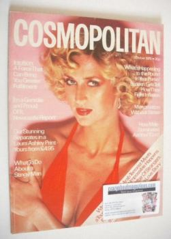 Cosmopolitan magazine (October 1975 - Eva Malmstrom cover)