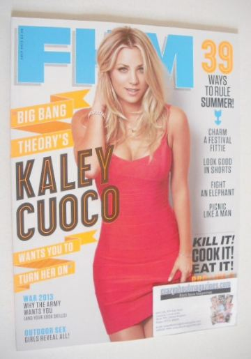 <!--2013-06-->FHM magazine - Kaley Cuoco cover (July 2013)