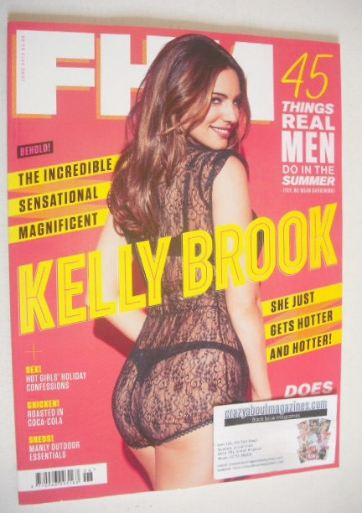 <!--2013-06-->FHM magazine - Kelly Brook cover (June 2013)