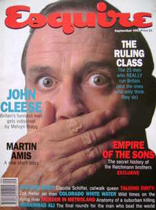 Esquire magazine - John Cleese cover (September 1992)