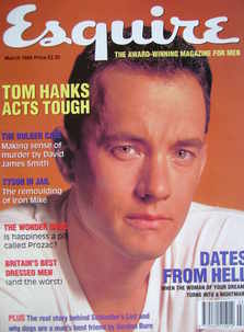 Esquire magazine - Tom Hanks cover (March 1994)