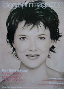 <!--2000-01-15-->Telegraph magazine - Annette Bening cover (15 January 2000