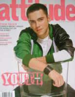 <!--2004-03-->Attitude magazine - Bruno Langley cover (March 2004)