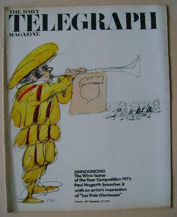<!--1971-09-17-->The Daily Telegraph magazine - 17 September 1971